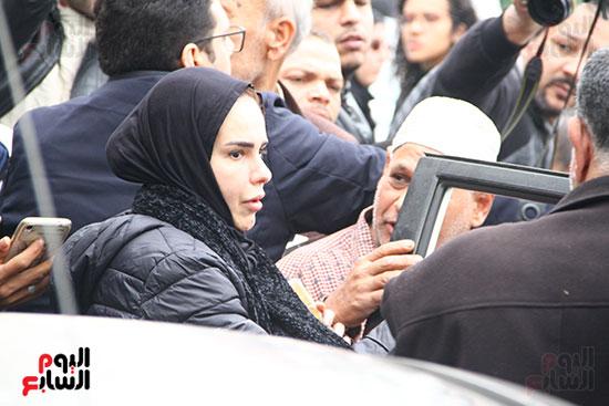 جنازة الفنانة ماجدة (43)