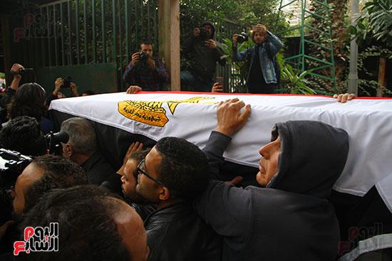 جنازة الفنانة ماجدة (34)