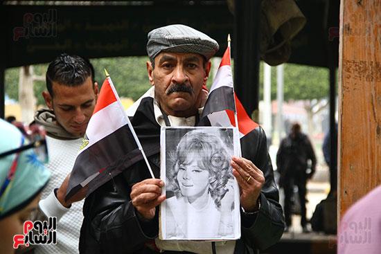 جنازة الفنانة ماجدة (3)