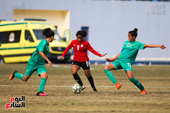 تمرير لاعبات المنتخب المصرى