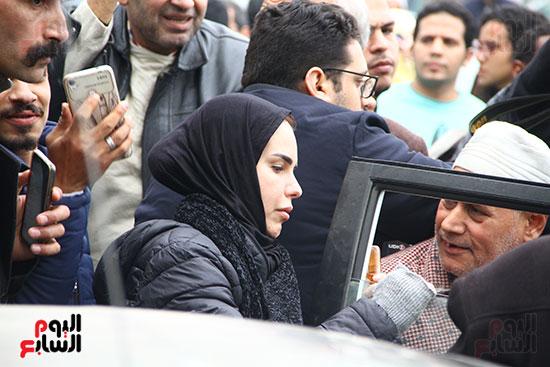 جنازة الفنانة ماجدة (44)