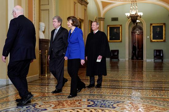 جانب من أعضاء مجلس الشيوخ