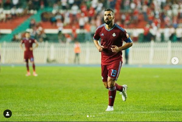 عبد الله السعيد في احدى المباريات