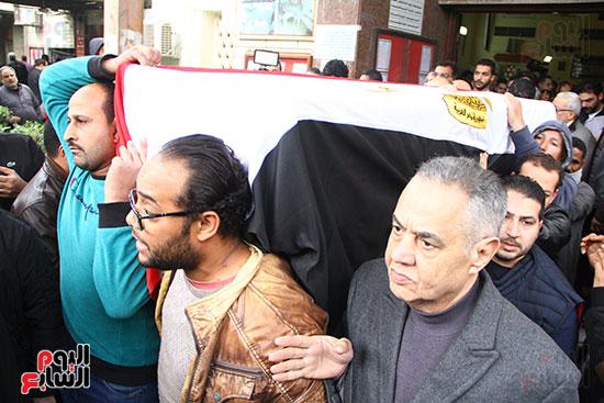 جنازة الفنانة ماجدة (32)