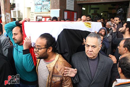 جنازة الفنانة ماجدة (30)