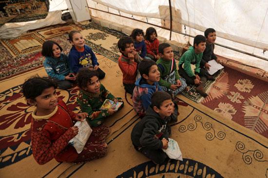 الأطفال السوريين