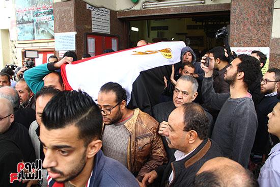 جنازة الفنانة ماجدة (27)