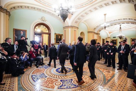 عدد من أعضاء مجلس الشيوخ