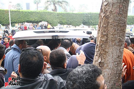 جنازة الفنانة ماجدة (37)