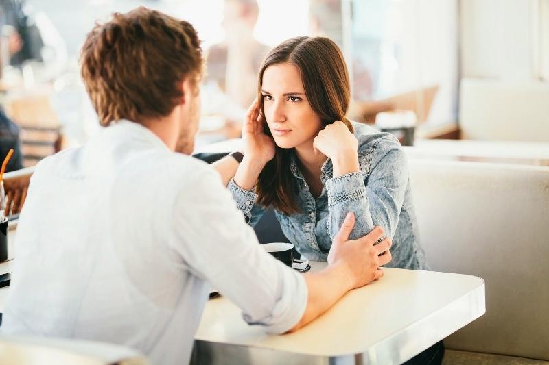 التحدث مع الزوج