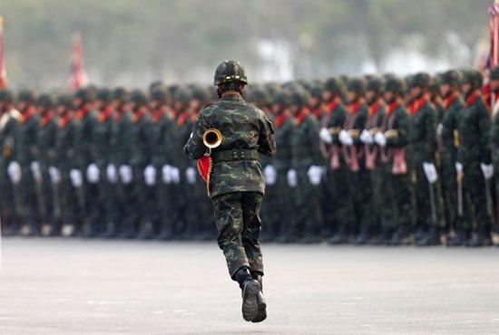 العرض العسكرى بتايلاند