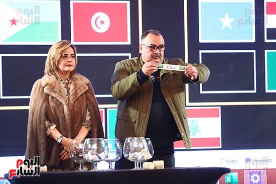 حفل قرعة البطولة العربية (4)