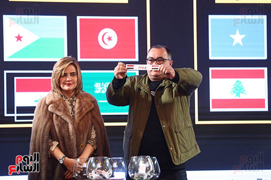 حفل قرعة البطولة العربية (6)