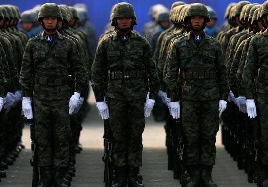 جنود تايلاند