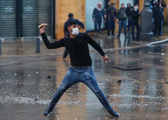 الاشتباكات فى بيروت