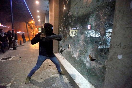 أعمال شغب فى بيروت