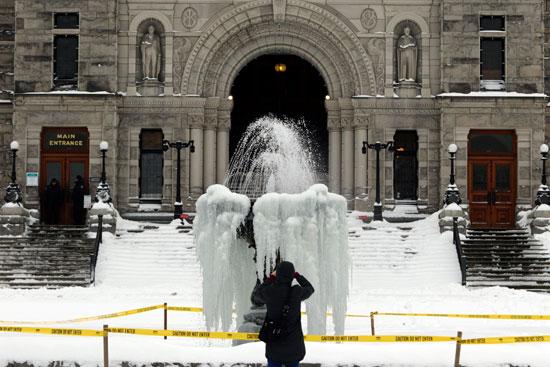 الثلوج فى كندا