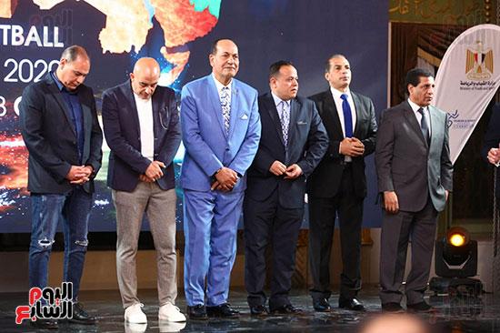 حفل قرعة البطولة العربية (11)