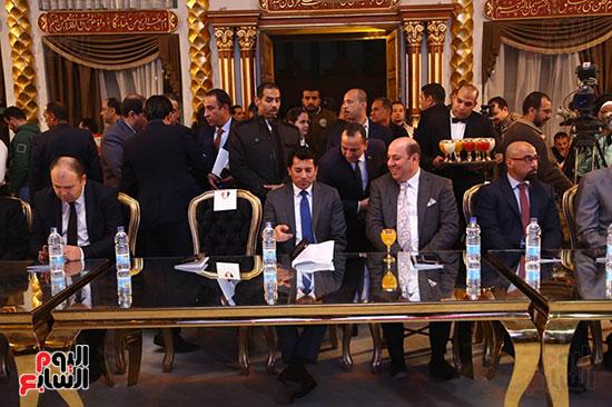 حفل قرعة البطولة العربية (27)
