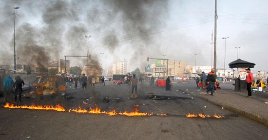 قطع-الطرق-فى-العراق