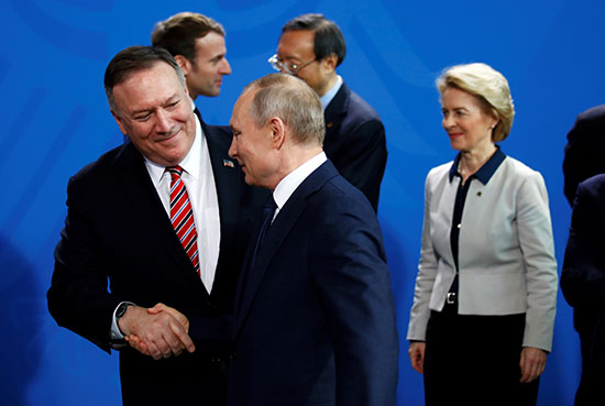 الرئيس الروسى ووزير خارجية أمريكا