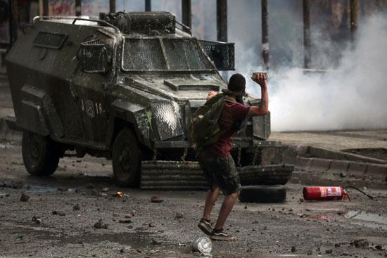 الاعتداء على قوات الأمن