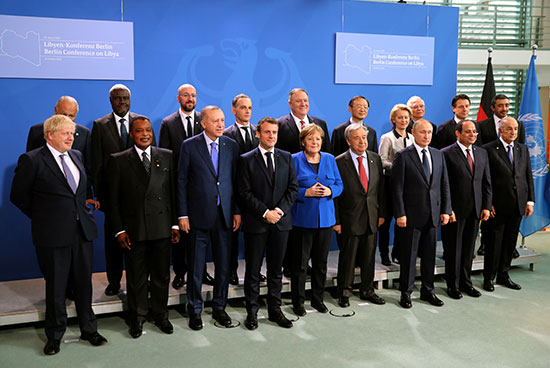 صورة جماعية للقادة