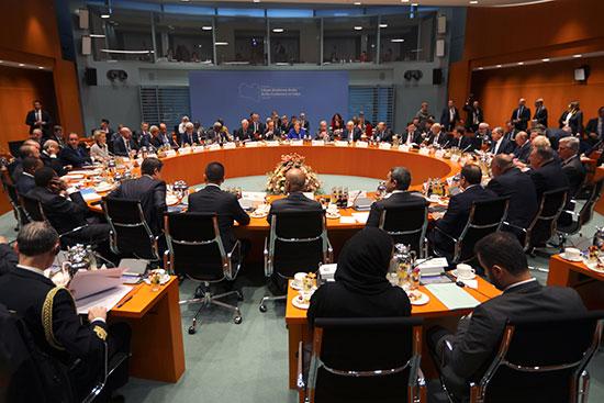 قمة ليبيا فى برلين
