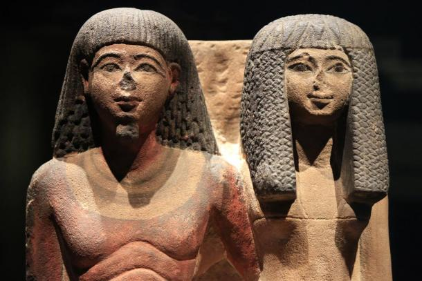 Egyptian-priest-and-wife