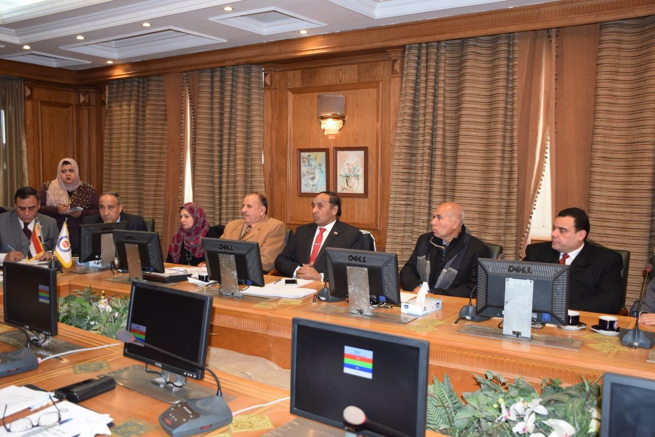 جمال محمد على فى الاجتماع