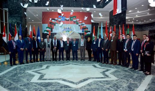 رئيس جامعة طنطا يشهد فعاليات الملتقى الثقافي المصري العربي