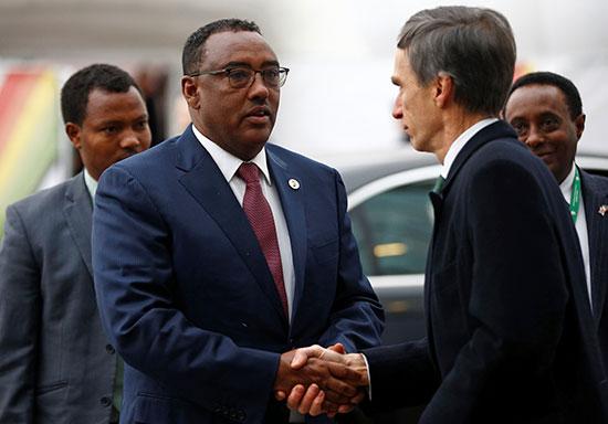 نائب رئيس وزراء إثيوبيا ديميك ميكونن