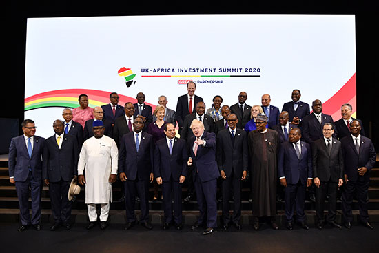 صورة جماعية للقادة المشاركين فى القمة