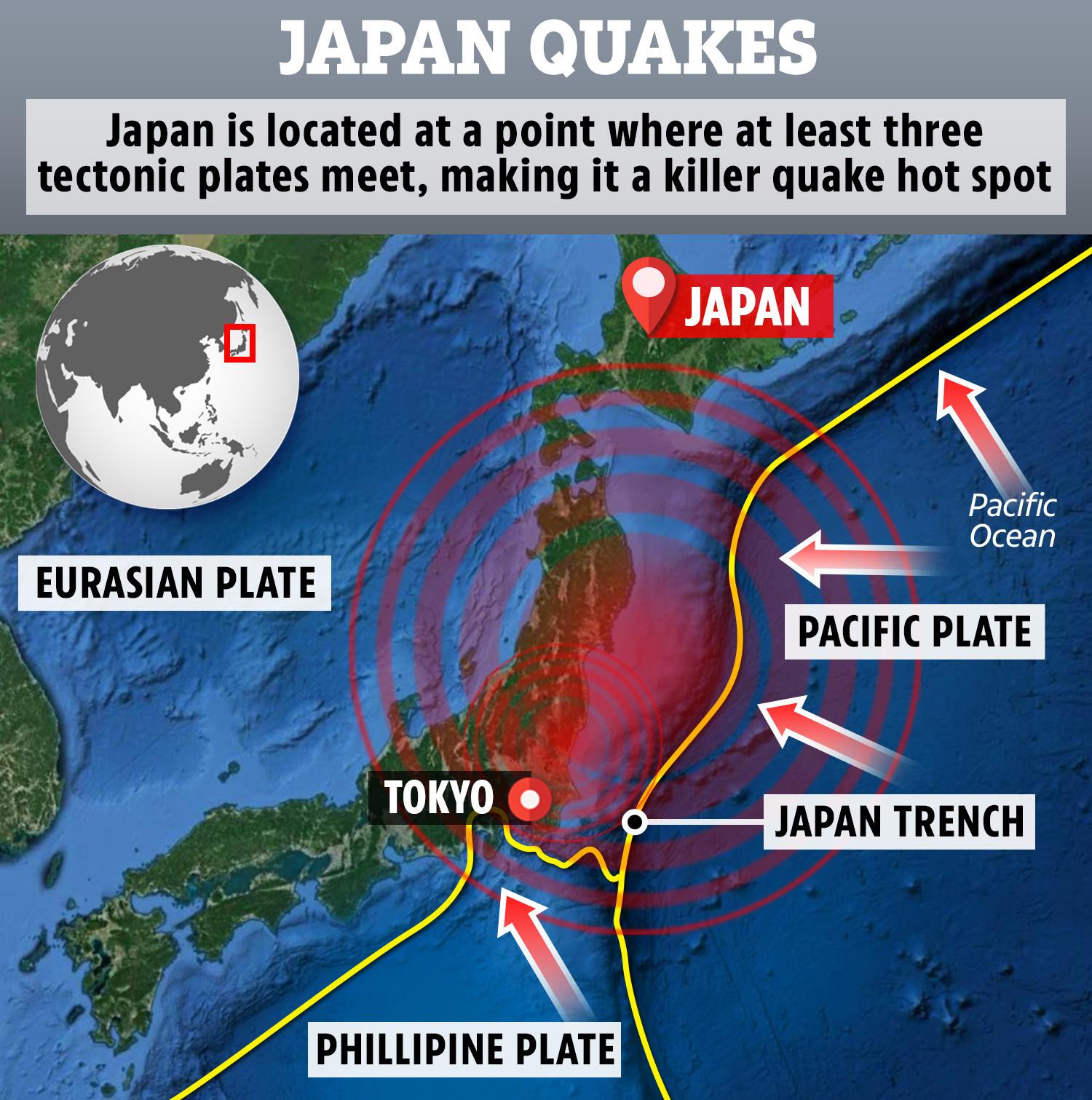 VP-MAP-JAPAN-TECTONIC-PLATE