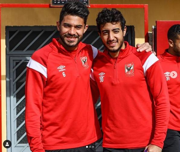 ياسر ابراهيم ومحمد هاني