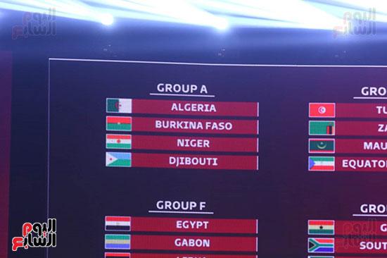 قرعة تصفيات كاس العالم 2022 مصر بالمجموعة السادسة مع الجابون