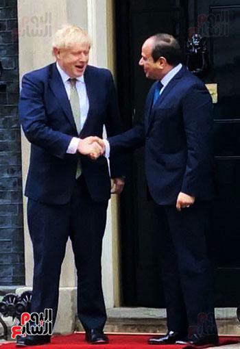 السيسى ورئيس الوزراء البريطانى (8)