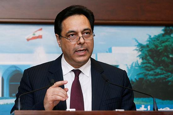 رئيس الوزراء اللبناني حسن دياب