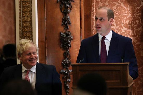 أمير بريطانيا يلقى كلمة