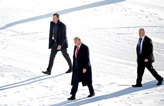 ترامب-لدى-وصوله-إلى-دافوس
