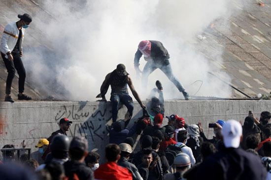 متظاهرو-العراق