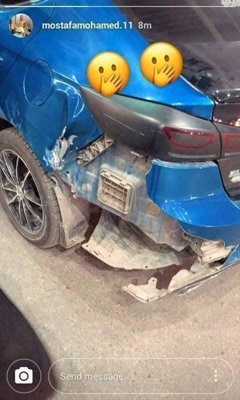 سيارة مصطفي محمد