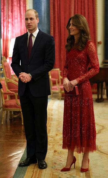 الأمير البريطاني وليام وكاثرين يتحدثان بمناسبة قمة الاستثمار البريطانية  والأفريقية
