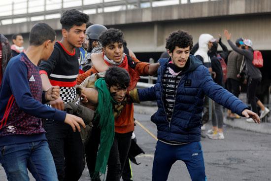 مصاب-بمظاهرات-العراق