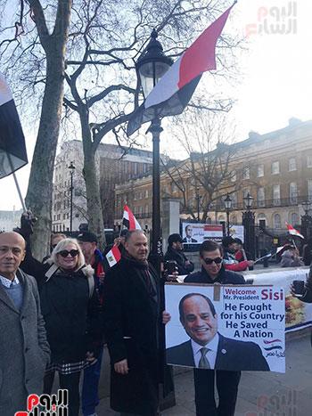 الجالية المصرية بلندن (4)