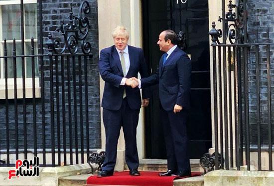 السيسى ورئيس الوزراء البريطانى (9)