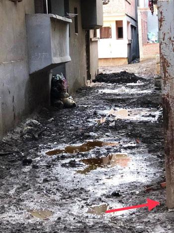 غرق طرق ومنازل الزعاترة بالمياه (3)