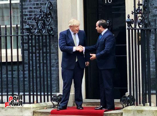 السيسى ورئيس الوزراء البريطانى (11)