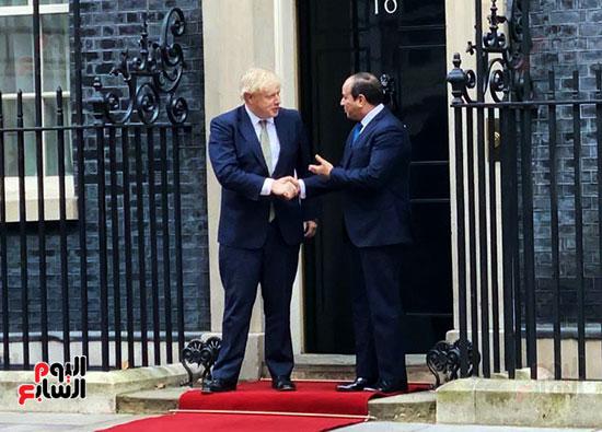 السيسى ورئيس الوزراء البريطانى (10)
