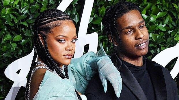 A$AP Rocky و ريهانا  (1)